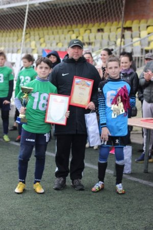 Команда СШОР№5 2009 гр стала победителем турнира КУБОК РЕГИОНА